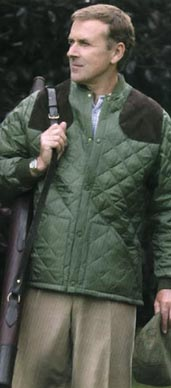 Quilted Shooting Jacket